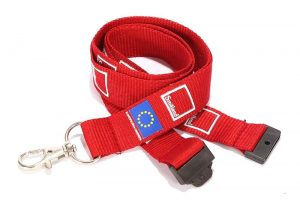 Personalised Flat Polyester Lanyards
