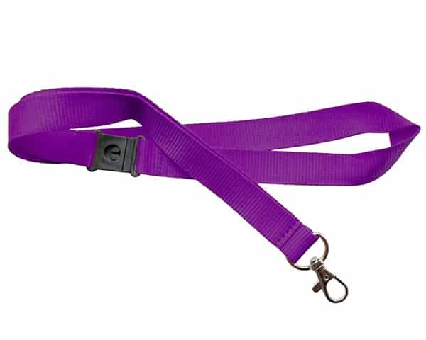 Purple Lanyards