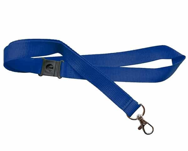 Blue Lanyards 281C