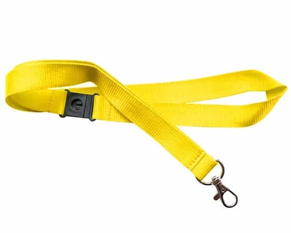 Yellow Lanyards