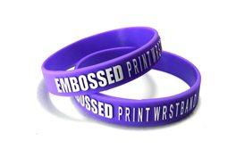 Custom-Wristbands-UK-Embossed-Small