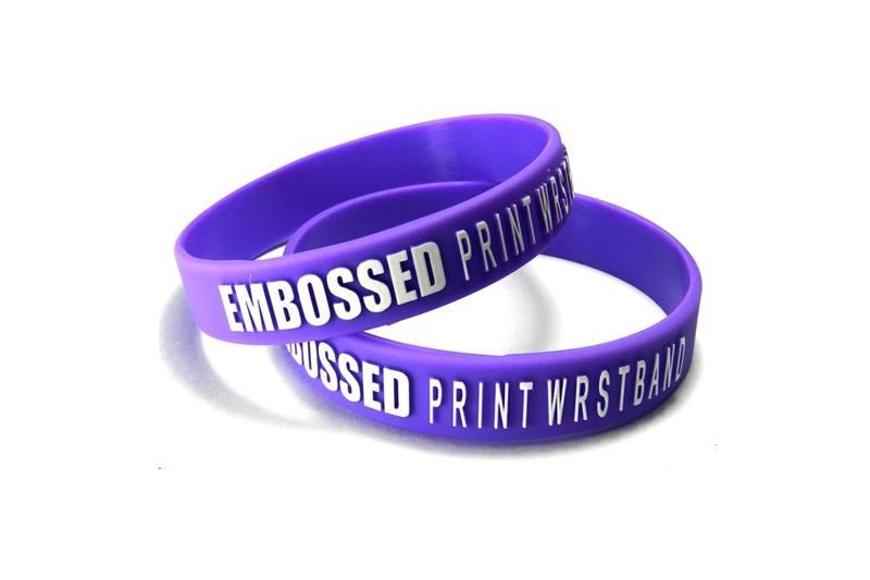 Custom-Wristbands-UK-Embossed
